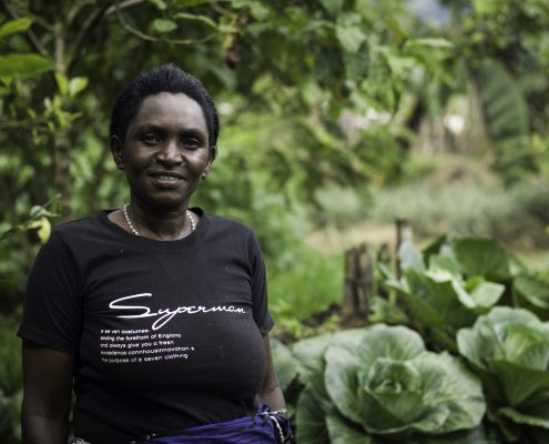 Josephine aus Rwanda